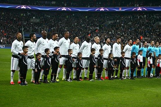 Beşiktaş-Benfica maçından kareler 53