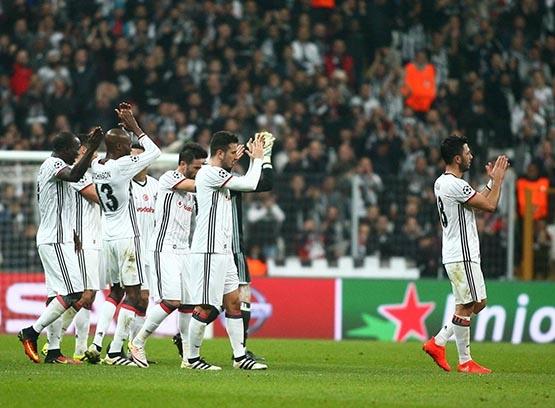 Beşiktaş-Benfica maçından kareler 54