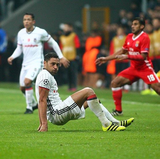 Beşiktaş-Benfica maçından kareler 55