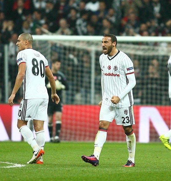 Beşiktaş-Benfica maçından kareler 56
