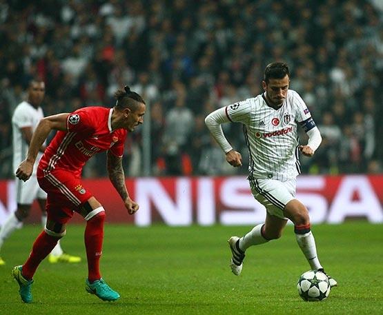 Beşiktaş-Benfica maçından kareler 57
