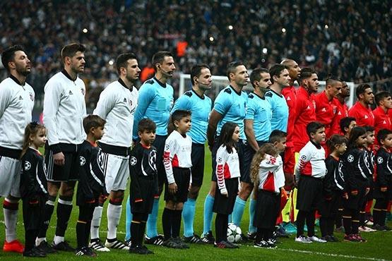 Beşiktaş-Benfica maçından kareler 58