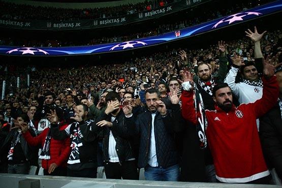 Beşiktaş-Benfica maçından kareler 6