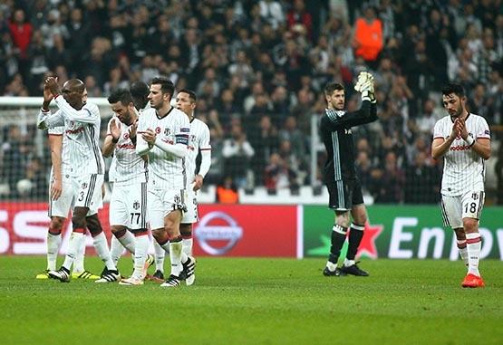 Beşiktaş-Benfica maçından kareler 7