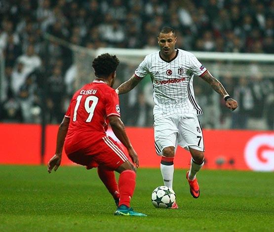 Beşiktaş-Benfica maçından kareler 8
