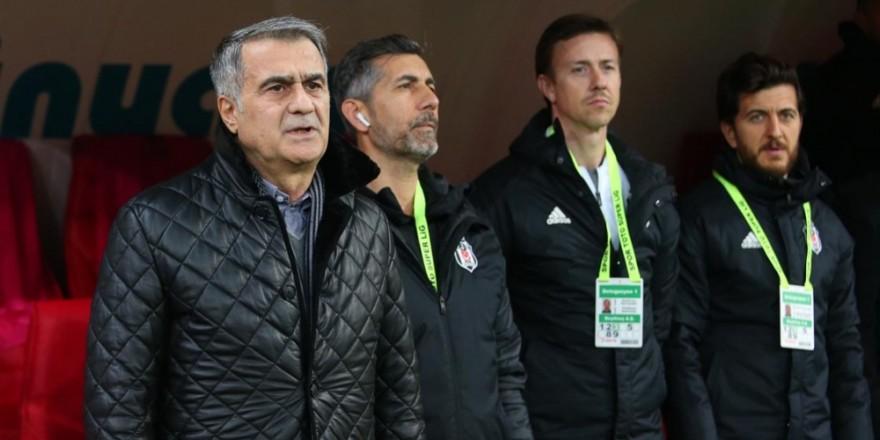Ankaragücü - Beşiktaş maçından kareler