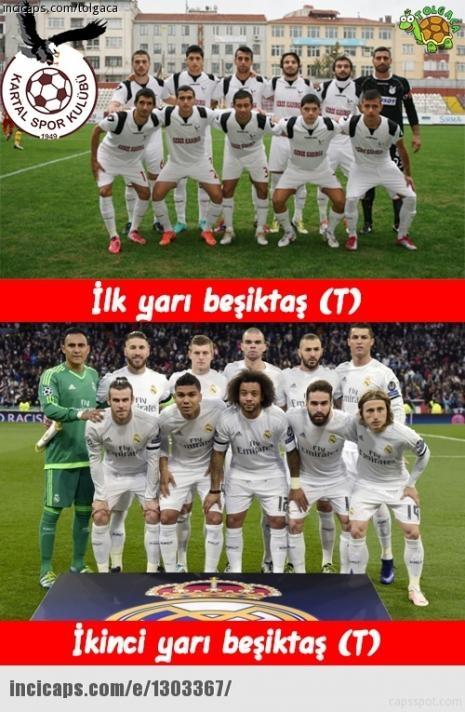 Sosyal medyayı sallayan Beşiktaş capsleri 1