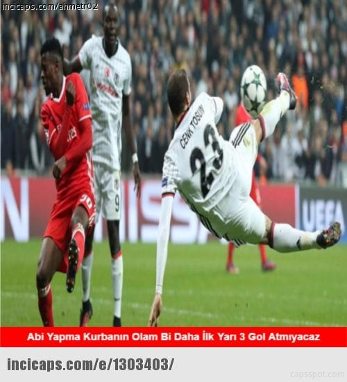 Sosyal medyayı sallayan Beşiktaş capsleri 2