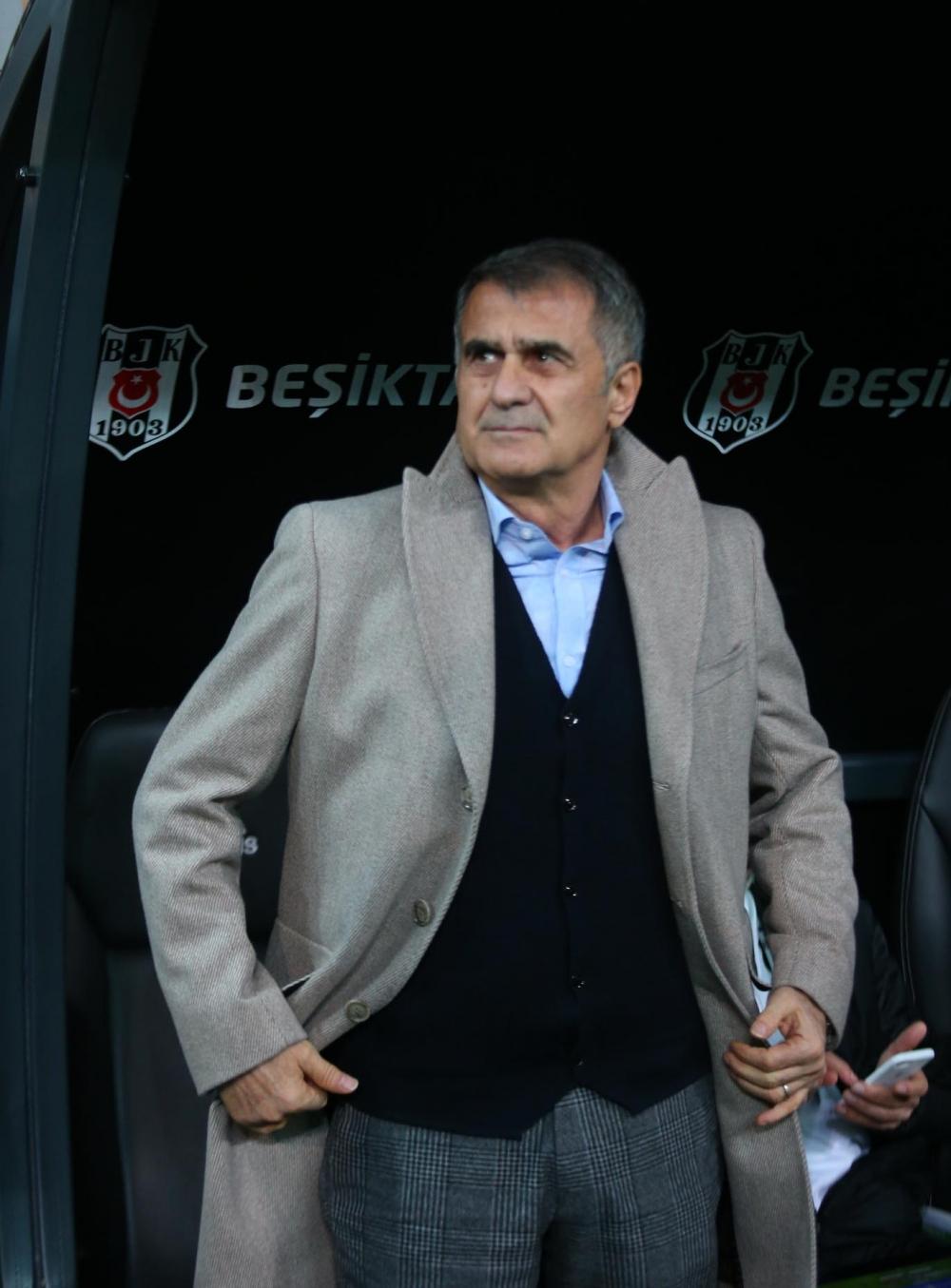 Beşiktaş - Galatasaray maçından kareler 1