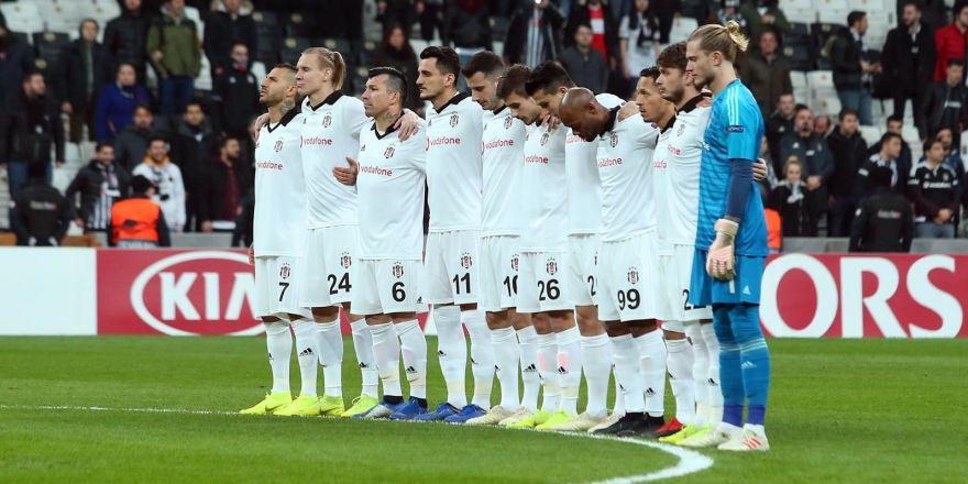Beşiktaş - Malmö maçından kareler