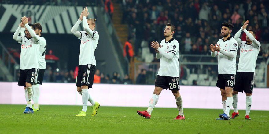 İşte kare kare Beşiktaş - Trabzonspor maçı