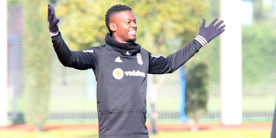 Beşiktaş'ın yeni transferi Mirin ilk antrenmana çıktı