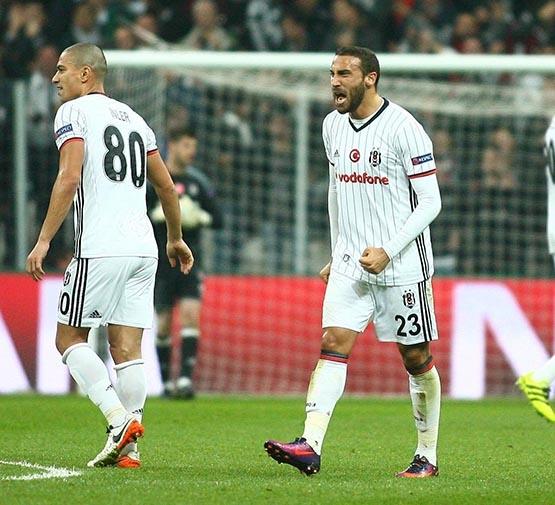 İşte dün akşam Beşiktaş'ın imza attığı rekorlar 13