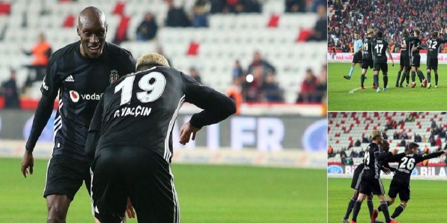 Beşiktaş, Antalya'da gol olup yağdı