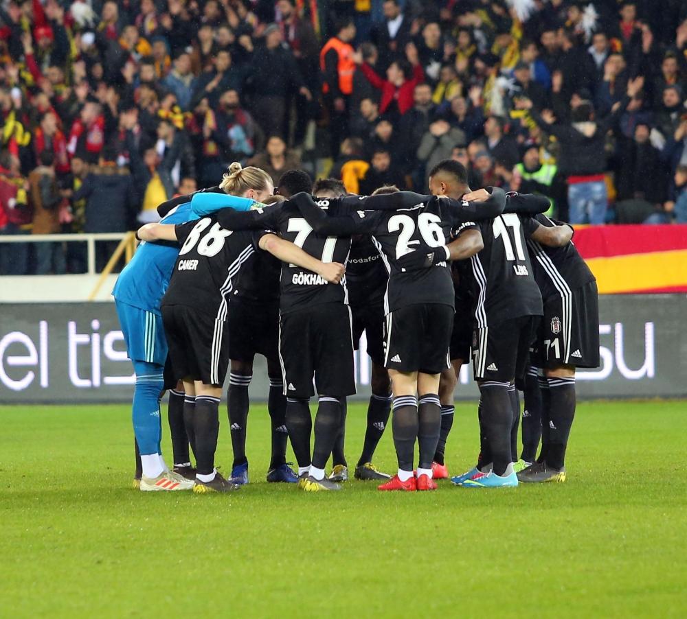 Malatyaspor - Beşiktaş maçından görüntüler 1