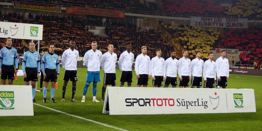 Malatyaspor - Beşiktaş maçından görüntüler
