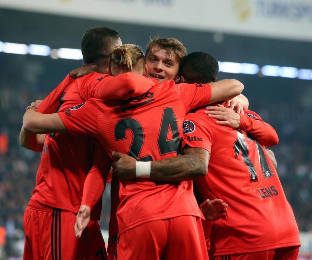 Ç.Rizespor - Beşiktaş (7-2) maçından muhteşem kareler 1