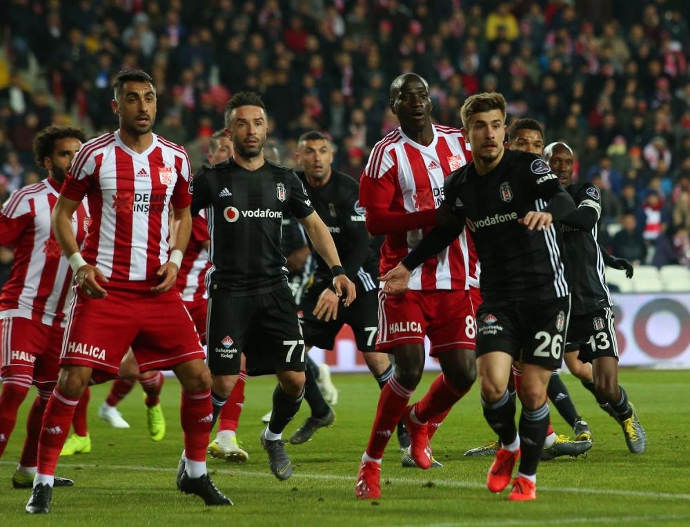 Sivasspor - Beşiktaş maçından kareler (22.04.2019) 1