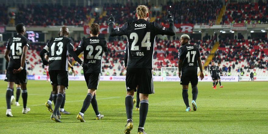Sivasspor - Beşiktaş maçından kareler (22.04.2019)