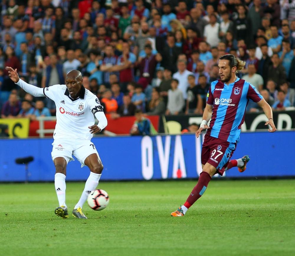 Trabzonspor - Beşiktaş maçından kareler 1