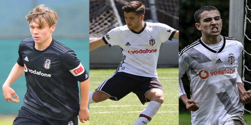 Beşiktaş'ın 2019-20 sezonundan profesyonel sözleşme imzaladığı genç oyuncular
