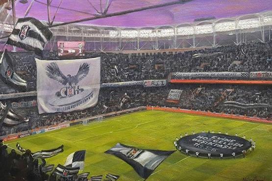 Efsane Beşiktaş resimleri satışa çıkarıldı 2