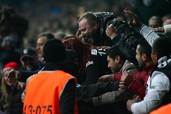 Beşiktaş-Başakşehir maçından kareler 20