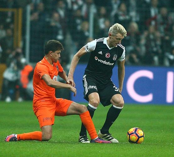 Beşiktaş-Başakşehir maçından kareler 21