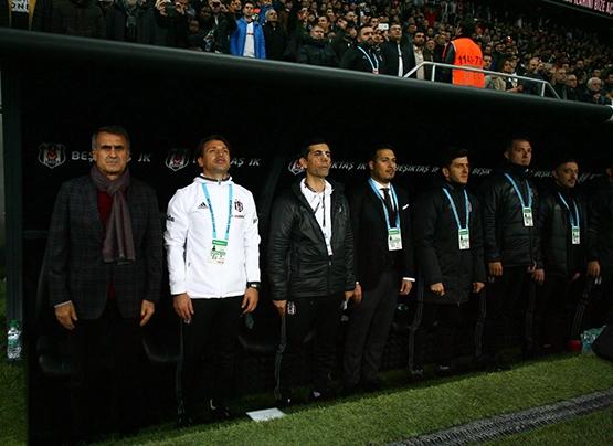 Beşiktaş-Başakşehir maçından kareler 26