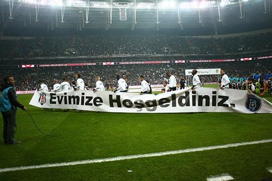Beşiktaş-Başakşehir maçından kareler 34