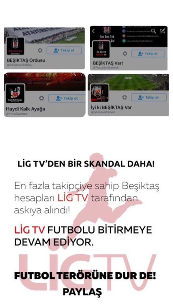 Çarşı'dan Beşiktaş sansürüne tepki 3
