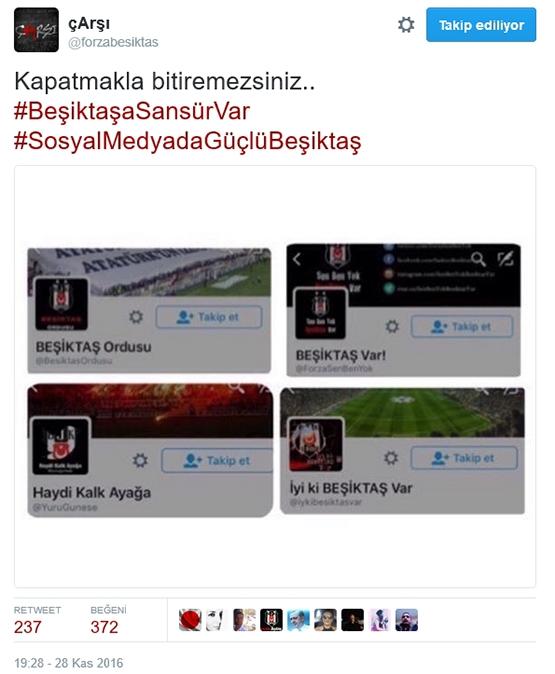 Çarşı'dan Beşiktaş sansürüne tepki 4