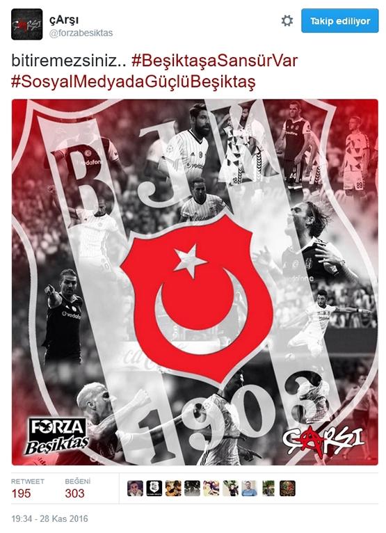 Çarşı'dan Beşiktaş sansürüne tepki 5