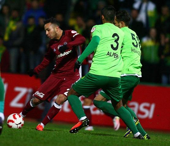 Darıca Gençlerbirliği - Beşiktaş maçından kareler 4