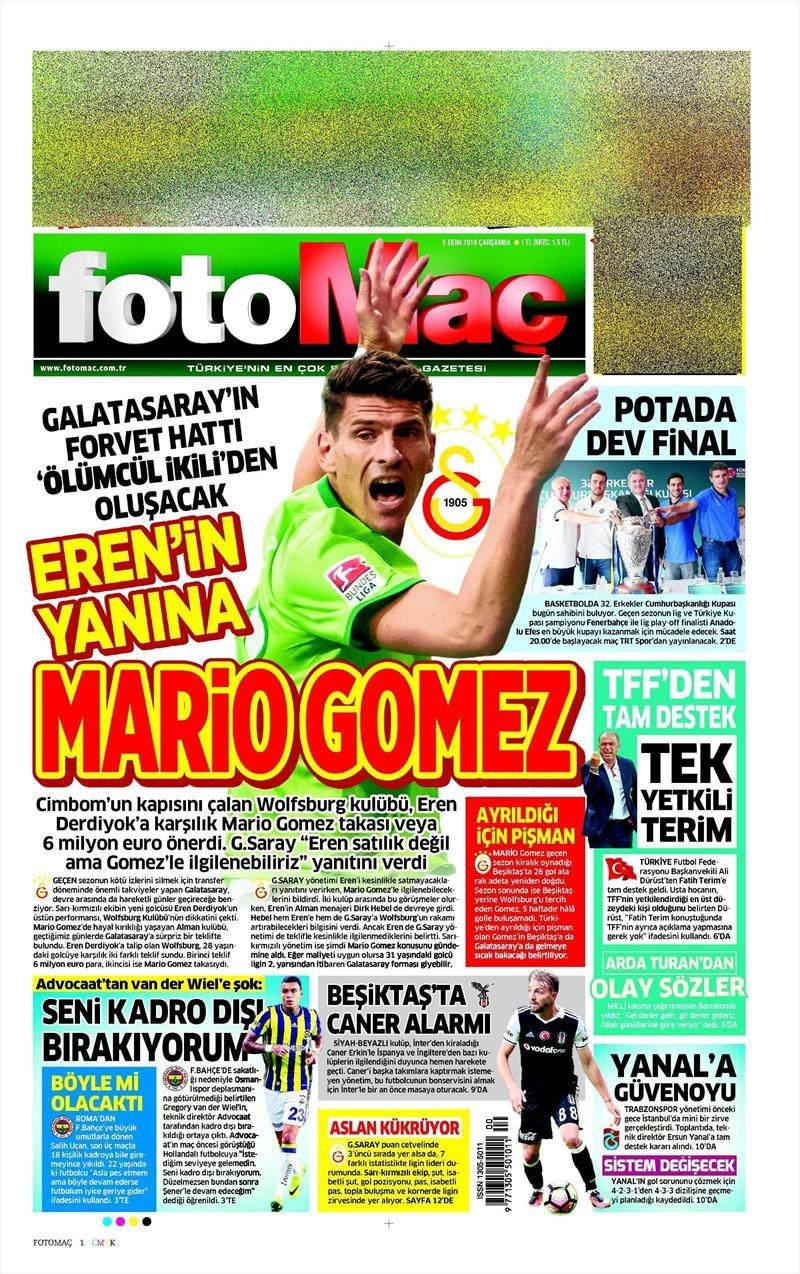 5 Ekim 2016 | Beşiktaş sayfaları 8