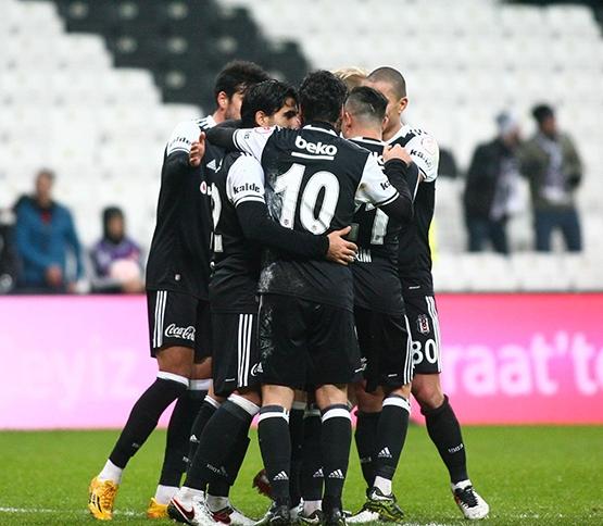 Beşiktaş - Boluspor maçından kareler 1