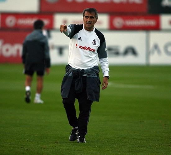Beşiktaş taktik ve kondisyon çalıştı! 13