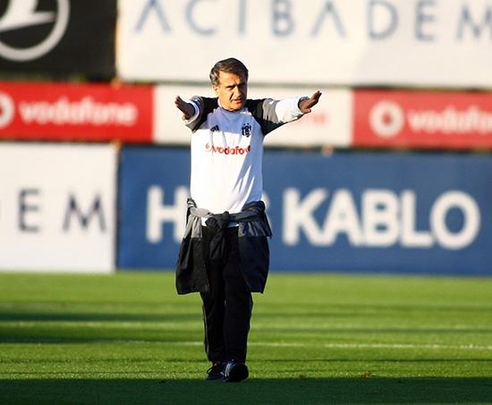 Beşiktaş taktik ve kondisyon çalıştı! 14