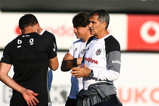 Beşiktaş taktik ve kondisyon çalıştı! 3