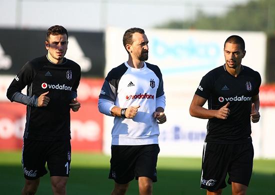 Beşiktaş taktik ve kondisyon çalıştı! 5