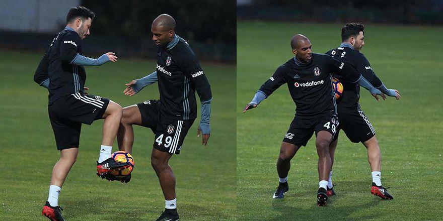 Beşiktaş Kampta   Ryan Babel'in ilk antrenmanından kareler