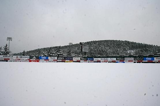 Karlar altında Nevzat Demir Tesisleri 1