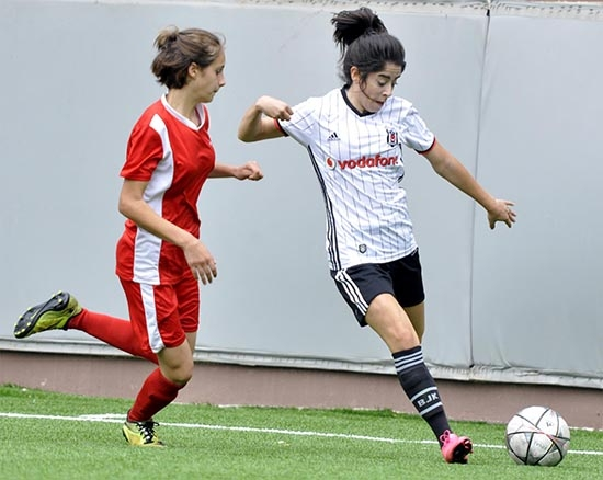 Beşiktaş:6 - Sultanbeyli Mevlana:0 (Kadın Futbol) 3