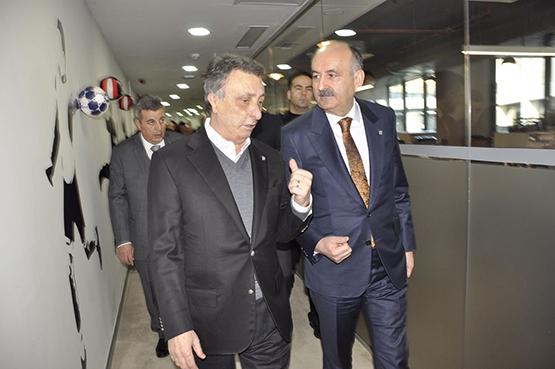 Vodafone Arena'daki çalışma ofisleri törenle açıldı 1
