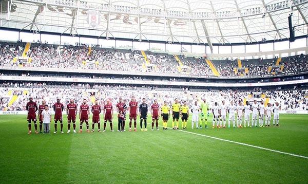 Beşiktaş-Başakşehir maçından kareler 16