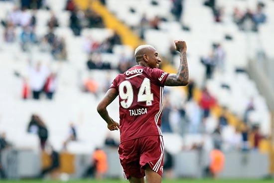 Beşiktaş-Başakşehir maçından kareler 2