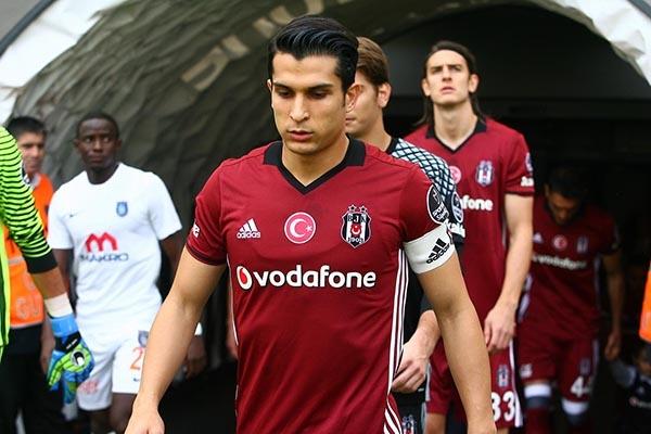 Beşiktaş-Başakşehir maçından kareler 33