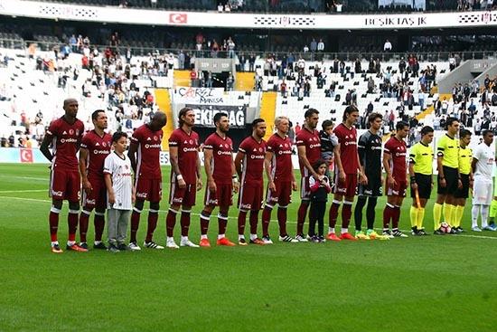 Beşiktaş-Başakşehir maçından kareler 4
