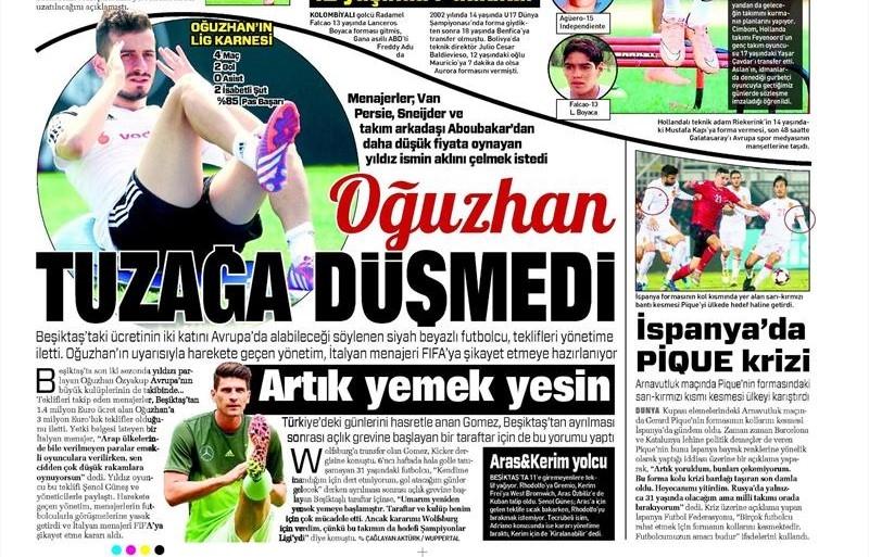 11 Ekim 2016 | Gazetelerin Beşiktaş manşetleri 9