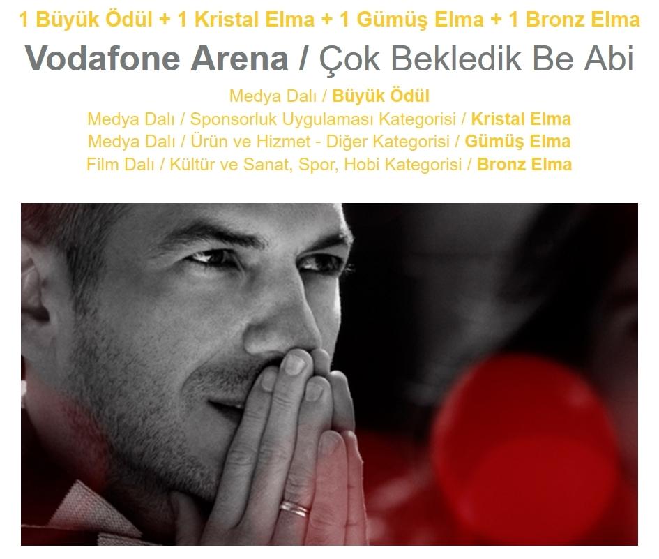 Vodafone Arena'ya 17 ödül 1